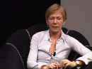 Milena Gabanelli, conduttrice di Report su RAI 2